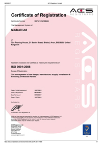 Modcell Revised 9001 Certificate Change of Scope Thumb1 .jpg