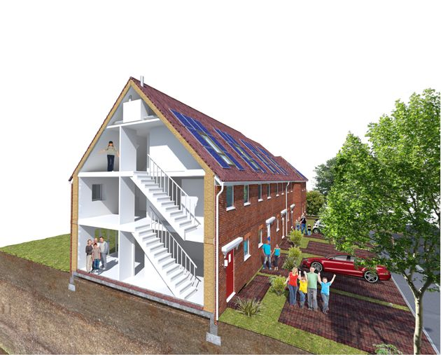 Connolly-Callaghan Eco-Homes, Shirehampton